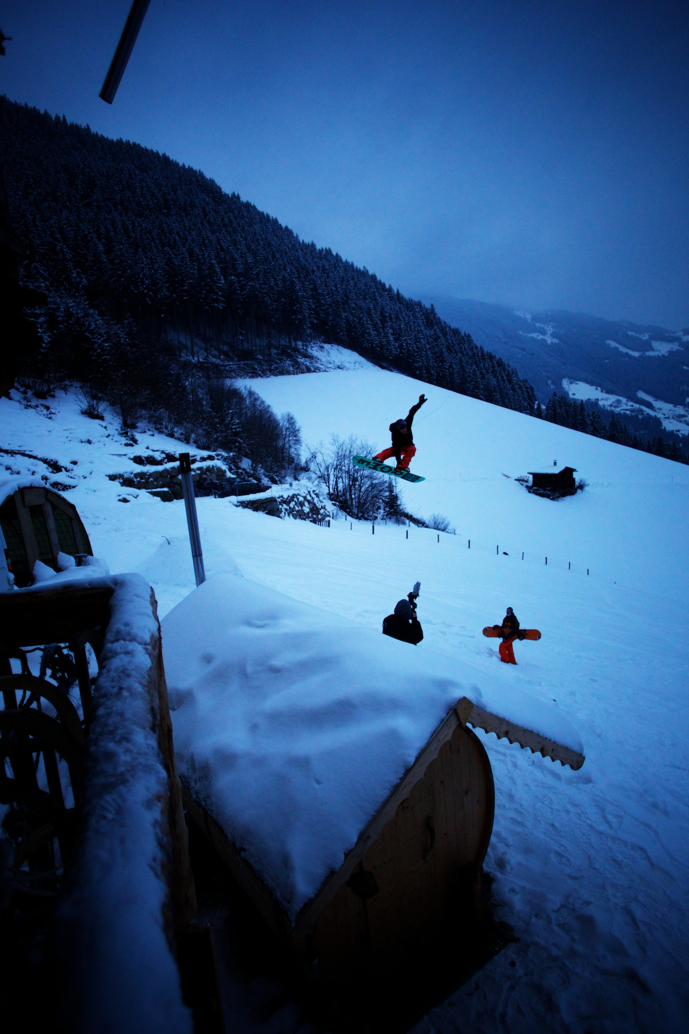 Jordan Phillips indy tail bone. Zillertal, Austria.
